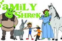Family Shrek AI
