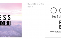 Fitness With Tori Business Card